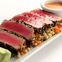 Sesame-crusted Ahi Tuna (The Chop House)