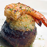 Chef's feature filet (The Chop House and Connors Steak & Seafood)