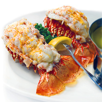 Twin Lobster Tails (Connors Steak & Seafood)